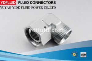 High Quality Hydraulic Swivel Elbow Coupling Hydraulic Fitting pictures & photos