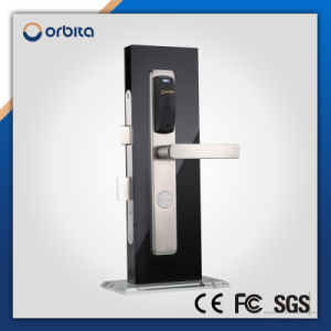 Hotel Access Control System RFID Smard Card 304 Stainless Steel Electronic Door Lock pictures & photos