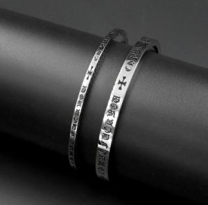 Vintage Couple Bangles 316L Stainless Steel Fashion Jewelry pictures & photos