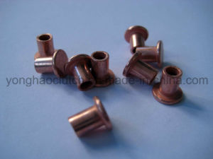 China Rivet Manufacturer Hollow Tubular Copper Rivets