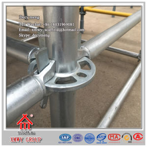 Construction Scaffold 48.3-60.3mm Ringlock Scaffolding System pictures & photos