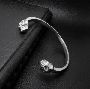 Gothic Men Bracelets Fashion Accessories Skull Cuff Bangles pictures & photos