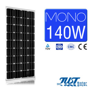140W Mono Solar Panel with Certification of Ce CQC and TUV