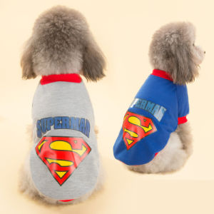 Trendy Printing Super Dog T-Shirt Cool Pet Clothes pictures & photos