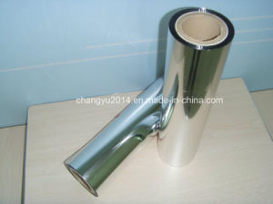 Metallized BOPP Film 18microns with Heat-Sealable pictures & photos