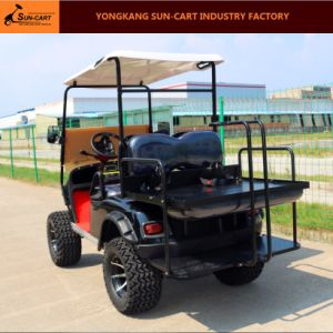 Hot Sale 4 Seater Electric Hunting Golf Cart pictures & photos