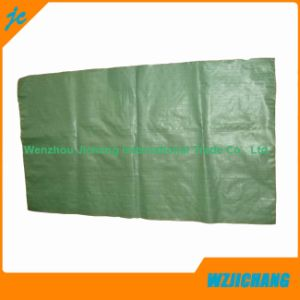 Green Recycled PP Woven Sand Bags, Fertilier Bags, Seed Bags, Garbage Bag pictures & photos