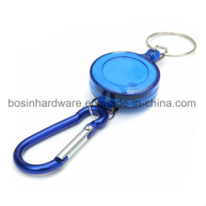 Plastic Badge Reel with Aluminum Carabiner pictures & photos