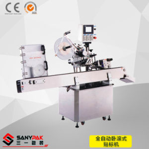 China Ampoule/Vial/Crayon/Tube/Lip Balm/Battery Non-Standing Object Label Machine pictures & photos