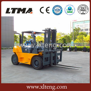 New Forklift Machine 5 Ton Diesel Forklift for Sale pictures & photos