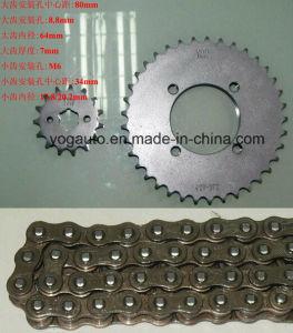 Motorcycle Chain Sprocket Set, Repuestos PARA Motocicletas, Kit De Transmision, Dayang Dayun Dy150-10 pictures & photos