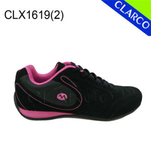 Outdoor Women Hiking Leather Sports Safety Shoes pictures & photos