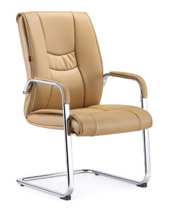Square Metal Leg Boardroom Conference Visitor Chair pictures & photos