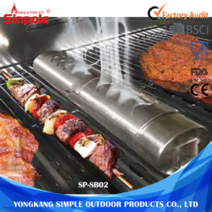 Universal Wood Chip BBQ Tool Smoker Box for Grill pictures & photos