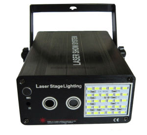 48 Patterns LED Laser Light LED Strobe Light for Family Party Disco KTV LED Stage Lighting pictures & photos