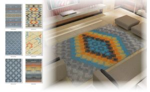 PP Machine Made Modern Area Rugs pictures & photos