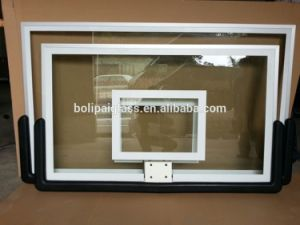China Best Quality Professional Black Paddingtempered Glass Basketball Backboard pictures & photos