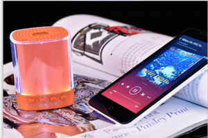 Mini Smart Bluetooth Lighting Speaker with TF Card and Aux pictures & photos