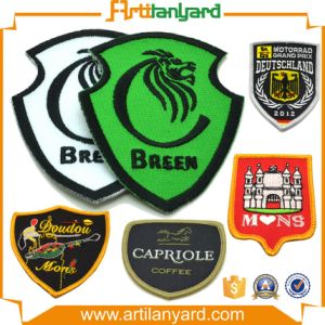 Custom Design Logo Embroidery Badge pictures & photos