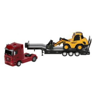 0101151-2.4G 1-32 Mercedes Benz Heavy Trailer and 1-20 Bulldozer RTR RC Car Engineering Vehicle Set pictures & photos