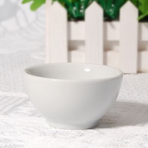 Top Sale Daily Use Ceramic Super White Fruit Bowl pictures & photos