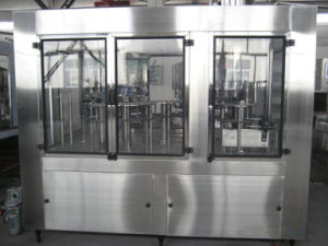 Filling Machine Automatic Crown Cap Glass Bottled Beverage and Capping Machine for Beer pictures & photos