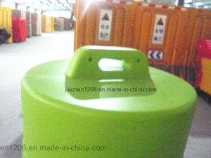 Convenient Handle Colorful Aesthetic appearance 900mm Plastic Traffic Drum pictures & photos