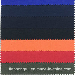 National Standard En11611 100% Cotton Flame Retardant Fabric Fireproof Cloth F. R Fabric pictures & photos