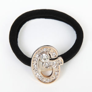 Fashion Black Elastic Hair Ornament for Girls pictures & photos