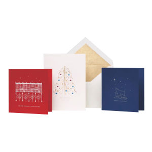 Full Color Offset Printing Gift Greeting Card pictures & photos
