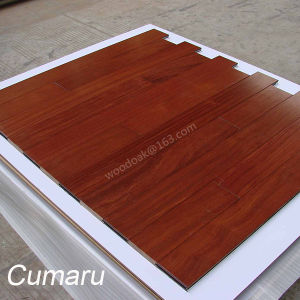 Wood Flooring Cumaru Solid Wood Flooring Hardwood Flooring with UV Lacquer pictures & photos