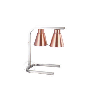 Electric Stainelss Steel Double Infared Food Warm Lamp Bz-R1 pictures & photos