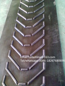 High Quality Patterned /Chevron Rubber Conveyor Belt pictures & photos