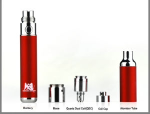 2017 Seego Newest Wax Vaporizer Kit Smoking Dragon Quartz Dual Coil for Best Vape Experience pictures & photos