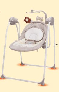 Wholesale Baby Swing with Music and Remote Control for Babies pictures & photos