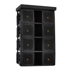 "Three Way Double 12"" Line Array Loudspeaker for Sound System pictures & photos"