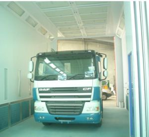 Wide Paint Booth for Large Truck pictures & photos