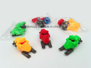Gliding Motorcycle in Snowfield of DIY Assembly Toy for Children pictures & photos