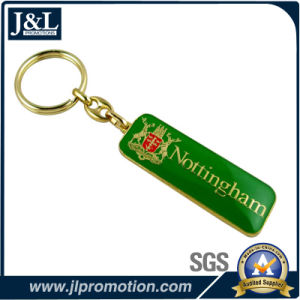 High Quality Metal Keychain with Epoxy No MOQ pictures & photos