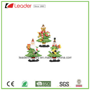 Polyresin Christmas 3D Refrigerator Magnet Figurine for Home Decoration pictures & photos