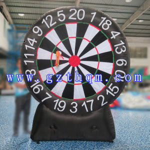 Sport Games Custom PVC Inflatable Darts/Sport Game Inflatable Foot Darts pictures & photos