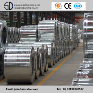 Manufacturer Dx51d Hot Dipped Galvanized/Aluminized Steel Coil Gi for Roofing Sheet pictures & photos