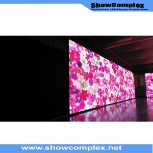 Ultra Slim Panel of pH3 Indoor Full Color LED Display with High Brightness pictures & photos