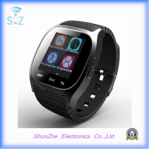Fashion Andriod Sport Smart Watch M26 with Multi-Function Bluetooth Phone Call pictures & photos