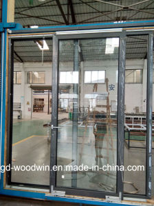Woodwin High Quality Thermal Break Aluminum Translation Door pictures & photos