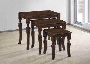 Solid Wood Coffee Tables (AKIM NESTING TABLE) pictures & photos