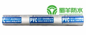 SY-868 PVC Waterproof Membrane Homogeneous Type 2.0mm