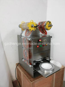 High Quality Stainless Steel Manual Cup Sealing Machine Supplier Factory pictures & photos