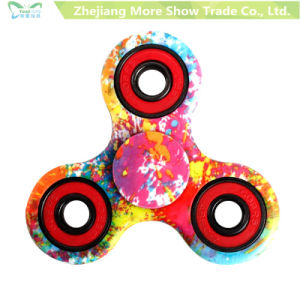 EDC Printing Fidget Spinner Hand Spinning Tops Anti Stress Finger Toys pictures & photos