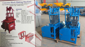 Fly Ash Brick Making Machine Vibrator Type Diesel Engine Driven pictures & photos